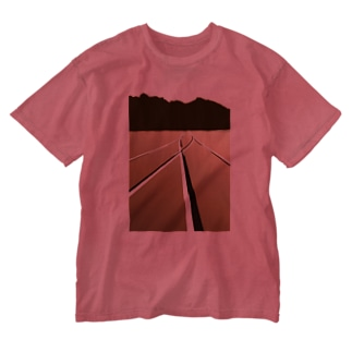 P地点から Washed T-shirts