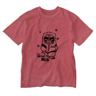 パンダミック Washed T-shirts