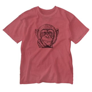 A smiling person Washed T-Shirt