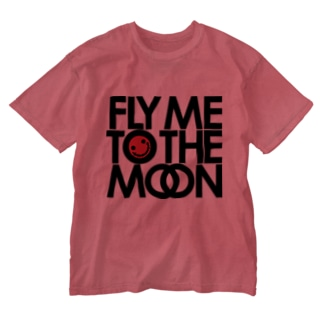 FLY ME TO THE MOON Washed T-shirts