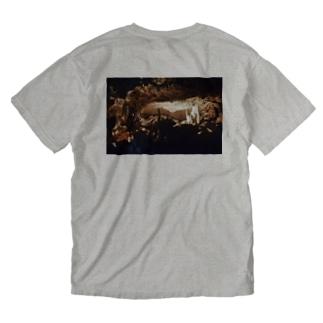 鍾乳洞 Washed T-shirts