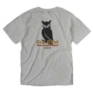 Cool&Owl半袖ウォッシュTシャツ Washed T-shirts
