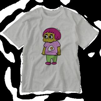 ぽにぽに通信ショップのqp_only Washed T-shirts