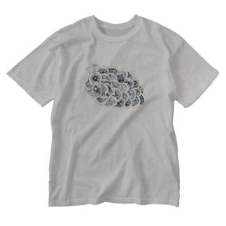 茸虫 Washed T-shirts