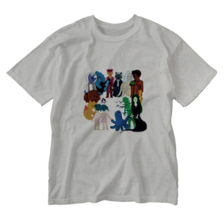 Characters Washed T-shirts