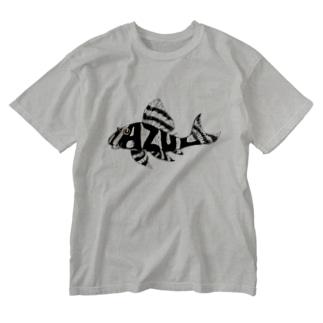AZULプレコ Washed T-shirts