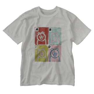 POP ART Washed T-shirts