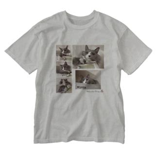 ミーさん。 Washed T-shirts