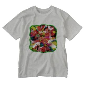 恋のなか Washed T-shirts