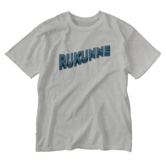RUKUNNE Washed T-shirts