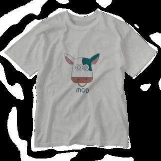 芥ぼんぐのmoo Washed T-shirts