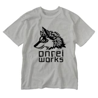 ハインロゴ Washed T-shirts