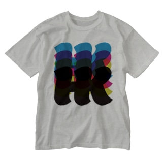 HKロゴ07 Washed T-shirts