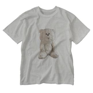 くまのゴンジ Washed T-shirts