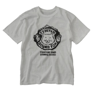 チベタン サンド サウンズ・レコード Washed T-shirts