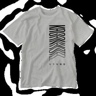 河岸ホテルのKAGANHOTEL 限定グッズ Washed T-shirts