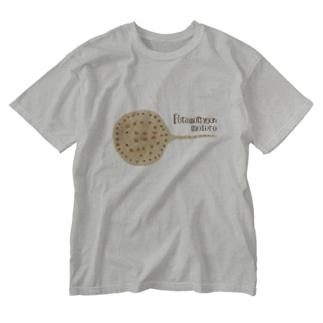 淡水エイ Washed T-shirts