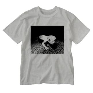 いもりん Washed T-shirts