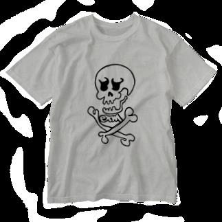 ET・MONKEY🐵のスカルT Washed T-shirts