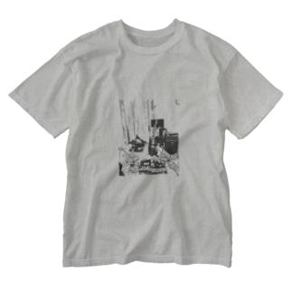 汚部屋 Washed T-shirts