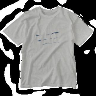 shuuuのnami Washed T-shirts