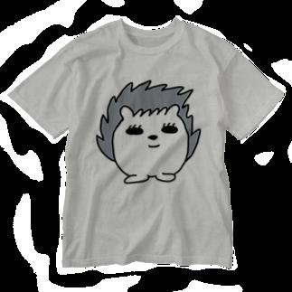 GAMERA3のハリネズミのトゲラくん Washed T-shirts