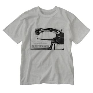 棄てられたミシン ~ BW Washed T-shirts