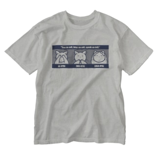 MI-NYAI, IWA-NYAI, KIKA-NYAI Washed T-shirts