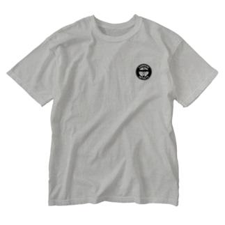 ワンポイント Washed T-shirts
