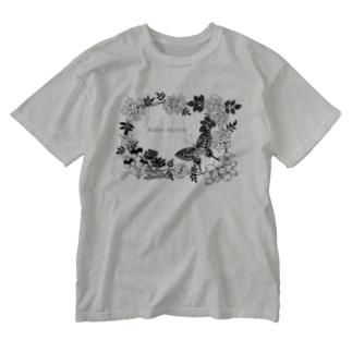 Aiba spina Washed T-shirts
