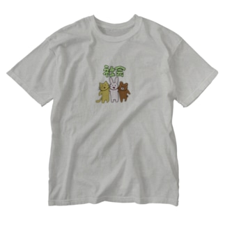 mnのsocial Washed T-shirts