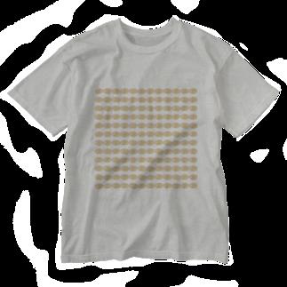 水草のハイパーオレンジ玉 Washed T-shirts