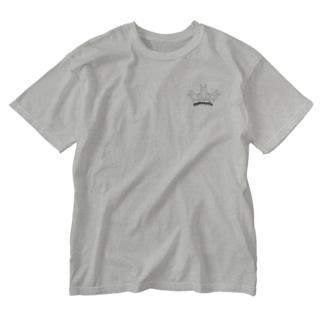 組体操ウサギ Chobby. Washed T-shirts