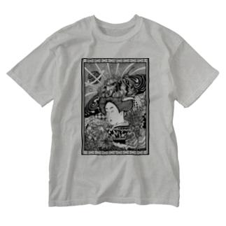 いとをかし Washed T-shirts