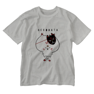 あんにゅい亭のN E K O M A T A Washed T-shirts