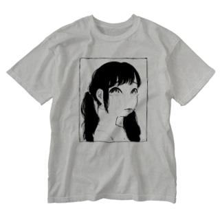 dounidemo Girl Washed T-shirts