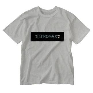 ZITHROMAX Washed T-shirts