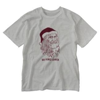 ダ・ヴィンチ サンタ  Washed T-shirts