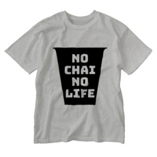 No Chai No Life Washed T-shirts