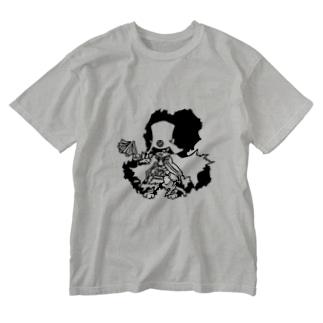 名軍師 Washed T-shirts