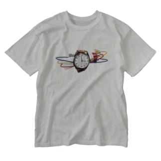 時限爆弾(カラー) Washed T-shirts