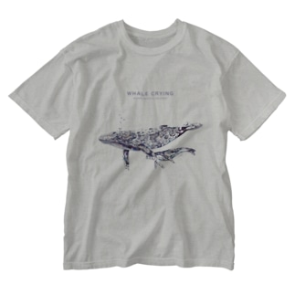 WHALE Washed T-shirts