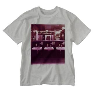 洗面台 Washed T-shirts