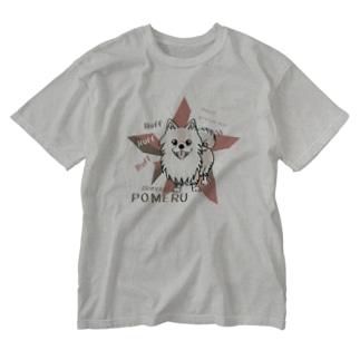CT08olぽめるはポメラニアンB  Washed T-Shirt