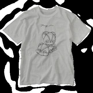 KingaMの手描き風KingaM Washed T-shirts