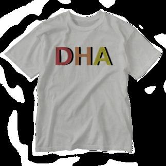 アメリカンベースのDHA Washed T-shirts