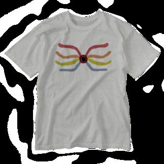アメリカンベースのインパクト 絵画 Washed T-shirts