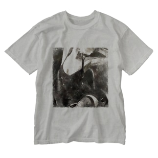 BLACK CALL GIRL Washed T-shirts