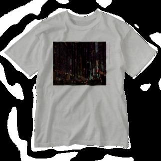 ハナイトの緊急出動 Washed T-shirts