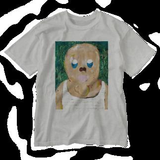 谷このみのちんあごおじさん Washed T-shirts